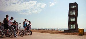 barcelona by bike tour