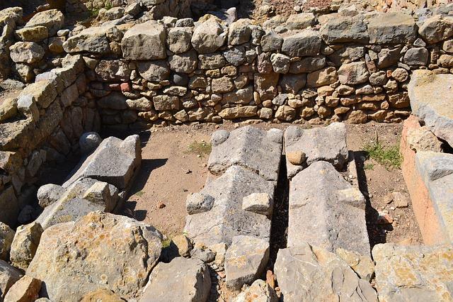 Ruinen in Empuria Barava