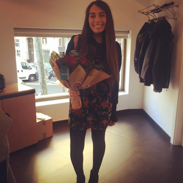 Feliz da de San Valentn! Magaly estaba tan feliz dehellip