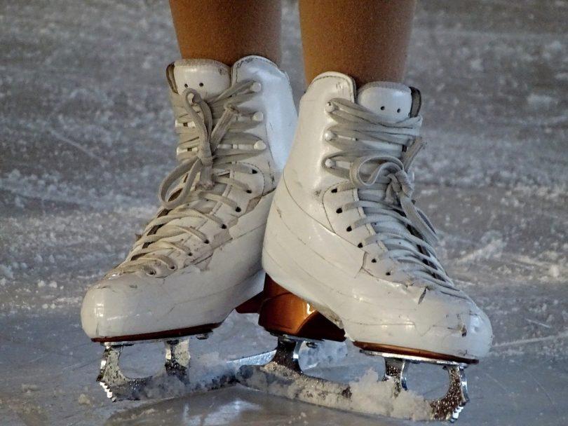 des patins à glace
